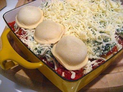 Ravioli Lasagna- so easy!!