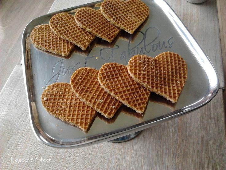 Stroopwafels in stijl! Simpel gemaakt met een koekjesuitsteker