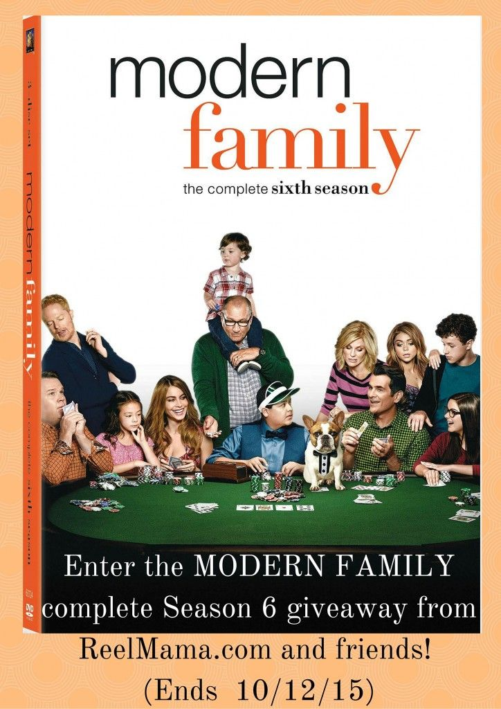 Modern Family Season 6 Giveaway 10/12 ~ Tales From A Southern Mom