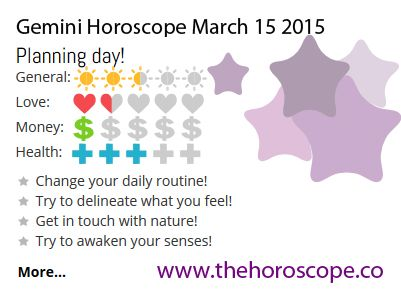 Planning day for #Gemini on March 15th #horoscope ... http://www.thehoroscope.co/daily-horoscope/gemini-sign-Gemini-Daily-Horoscope-March-15-2015-7494.html