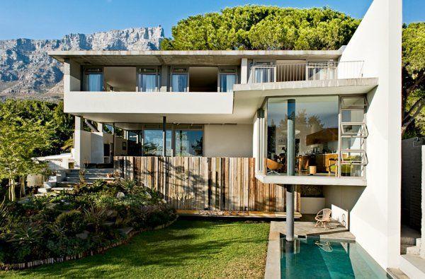 Une maison en verre et en béton au cœur de la nature luxuriante africaine Marie Claire Maison