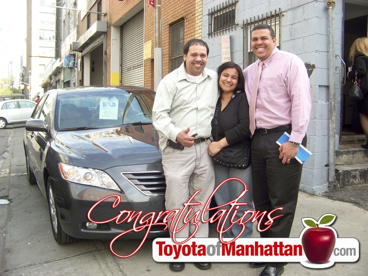 Toyota Of Manhattan >> Happy Toyota Of Manhattan Customers Henry And Rossy With