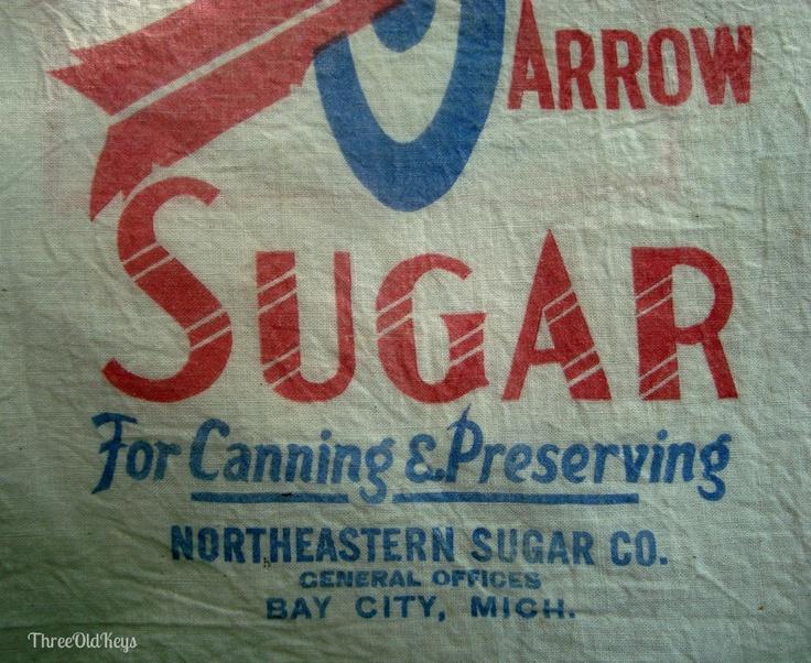 vintage Bay City Michigan   ... Sugar Beet Industry Red Arrow Northeastern Bay City MI Vintage