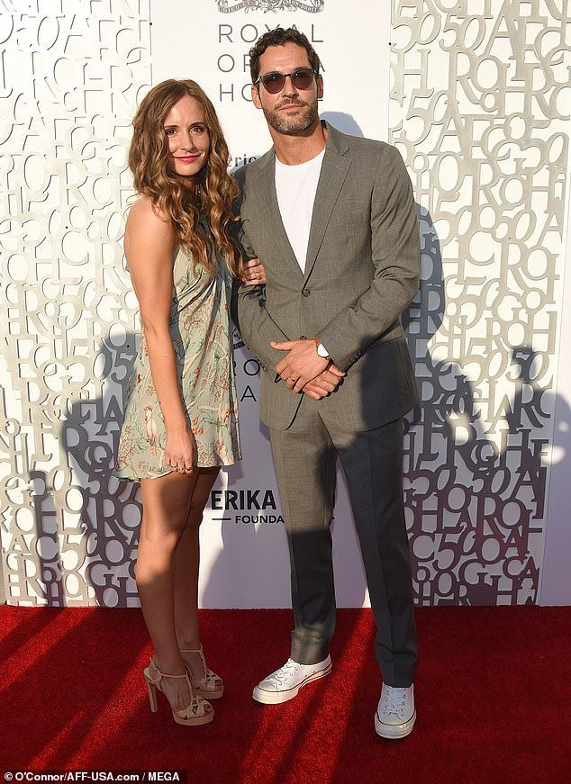 Tom Ellis and Meaghan Oppenheimer seen for first time ...