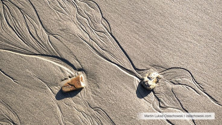 7 Abstract Patterns in the Intertidal Zone #beach #abstract #pattern #textures #textures #plage #strand #sand #sable