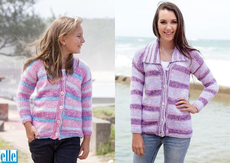 V-Neck Basics  Brand: Elle Yarn: Mischief Size From: 2 yrs Size To: 117 cm