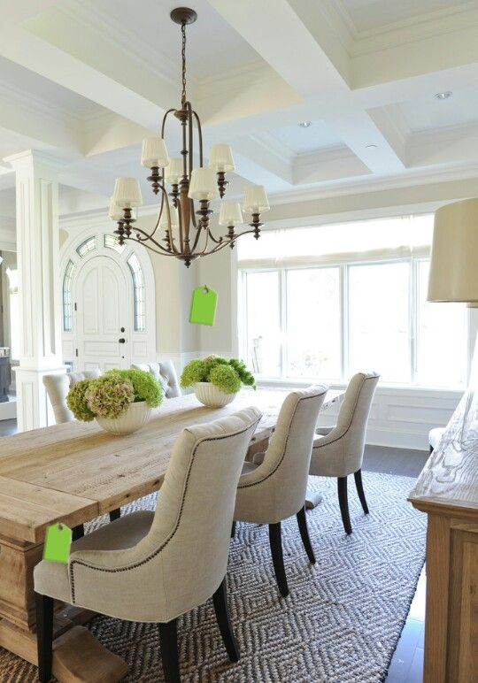 Tidbit tuesday a guide to mixing and matching furniture for Light colored dining room sets