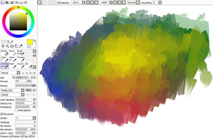 THIS BRUSH WILL CHANGE UR LIFE by castycas on Wysp (paint tool sai brush)