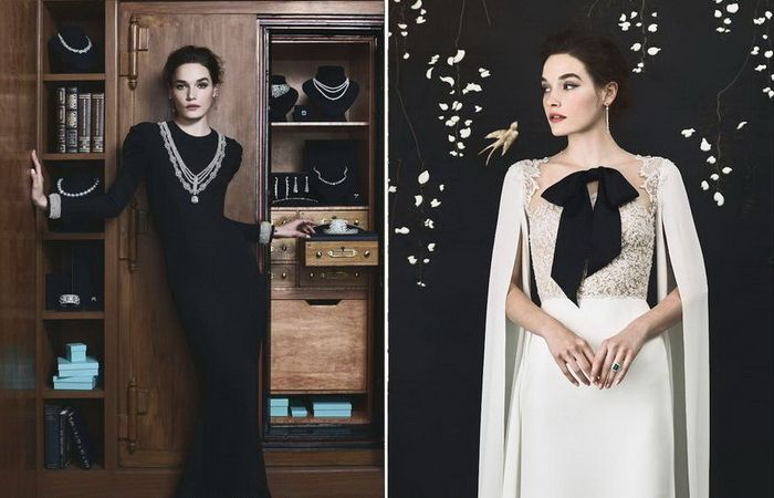 Вокруг света: Свадебные наряды по мотивам маленького черного платья Одри Хепберн http://kleinburd.ru/news/vokrug-sveta-svadebnye-naryady-po-motivam-malenkogo-chernogo-platya-odri-xepbern/