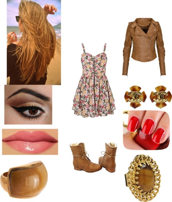 """Cute school outfit #20"" by nyjah-dudewhoatemytaco-raile ❤ liked on Polyvore"