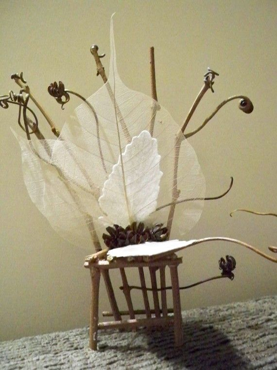 Angel Show Fairy Chair II      FREE SHIPPING by DrusArt on Etsy, $25.00