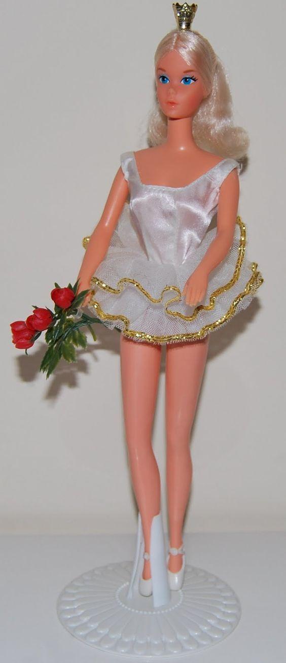 1976 Ballerina Barbie was my first.