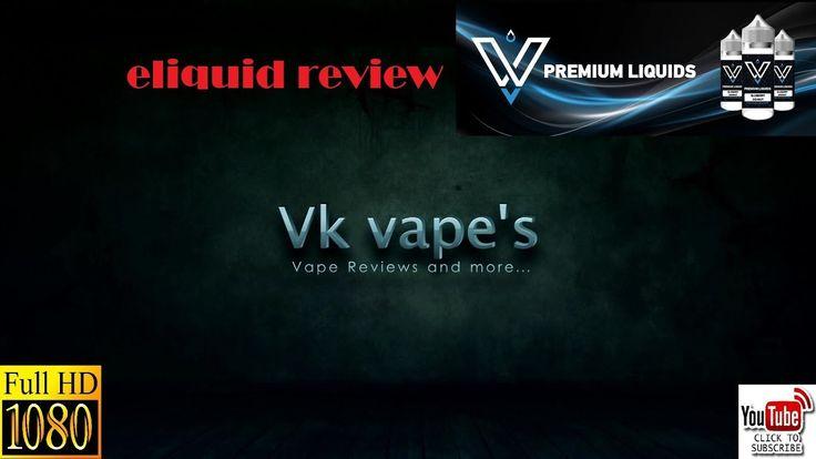 VnV e-liquids reviewed by Vk vape's (Greek-Ελληνικά)