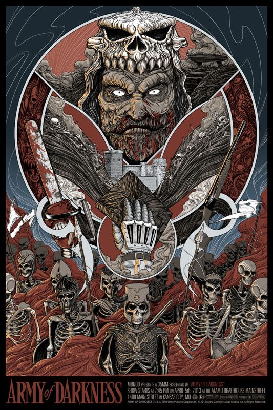 Army of darkness movie theme music