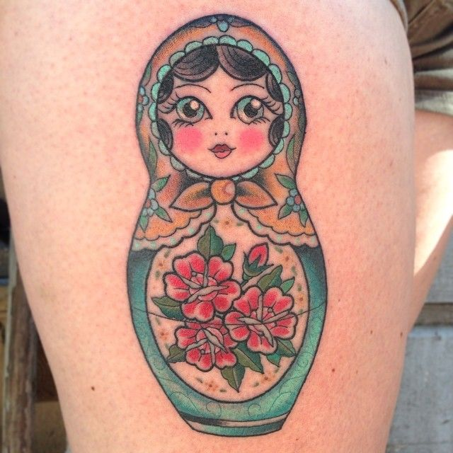 best 25 russian doll tattoo ideas on pinterest doll tattoo babushka tattoo and traditional. Black Bedroom Furniture Sets. Home Design Ideas