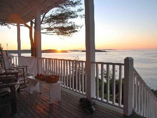 Maine, ocean front home....