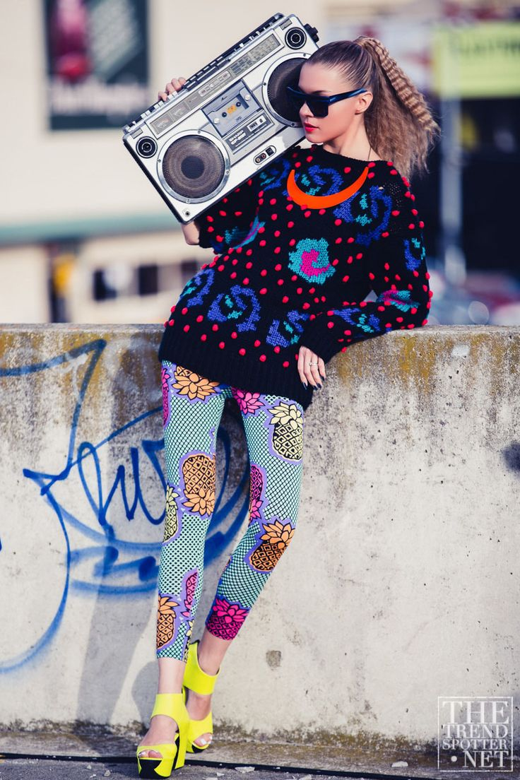 This is basically my life as a teenager summed up into one picture! The boom box turned all the way up, and the style is totally sweet! Trendies are going to LOVE this! -Jenna