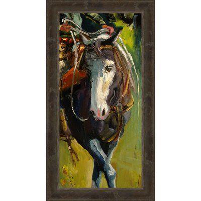 Ashton Wall Décor LLC 'Paint the Town' Framed Painting Print on Canvas