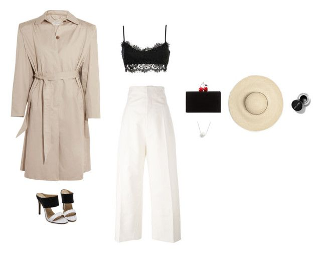 What's Your Number by justyna-tita-witkowska on Polyvore featuring moda, Balenciaga, Jacquemus, Edie Parker, Chan Luu, look, classy and womenswear
