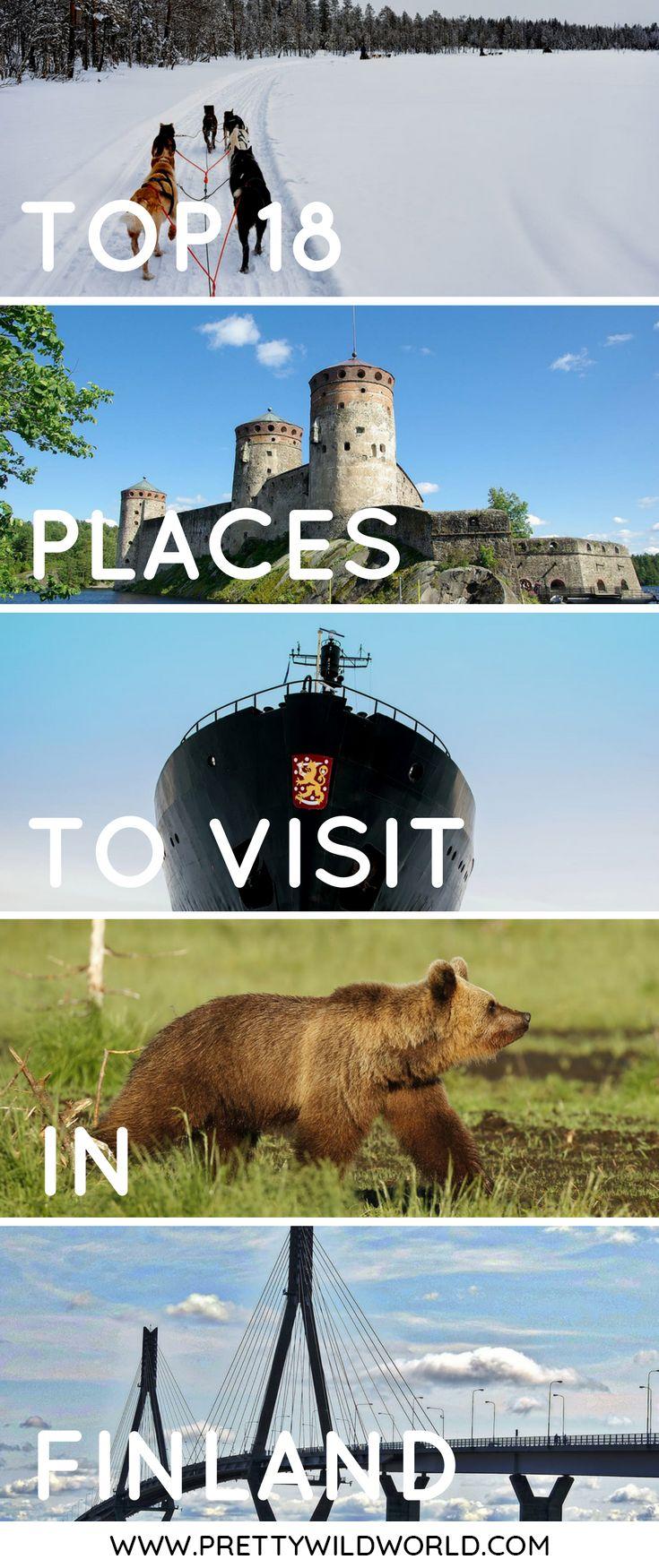 #FINLAND #EUROPE #TRAVEL | Places to visit in Finland | Heksinki | Tampere | Espoo | Vaasa | Jyväskylä | Rovaniemi | Joensuu | Kuhmo | Salla | Savonlinna | Kajaani | Porvoo | Turku | Pori | Finland travel guide | Trip to Finland | Travel to Finland | Visit Finland | Best time to visit Finland | How to travel to Finland | Where to stay in Finland | How to get around Finland | Finland points of interests | Things to do in Finland | Best tours in Finland | What to do in Finland