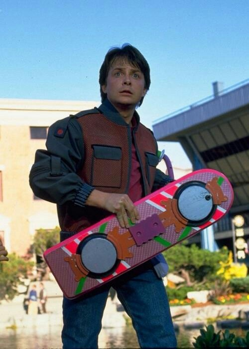 "Michale J. Fox "" Back to Future"""