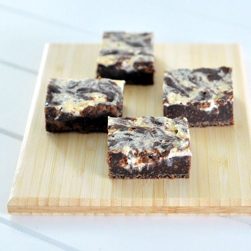 Cream Cheese Brownie Fudge