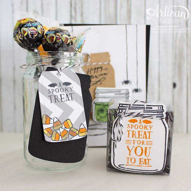 Jar of Haunts Halloween Treats ~ Susan Wong