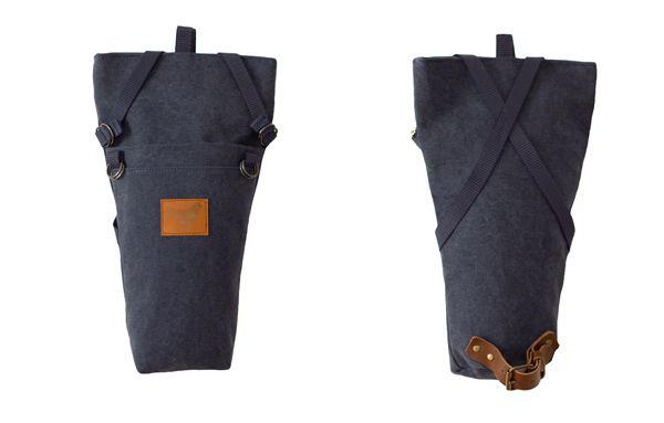 """Summer 2014 - """"Urban Nomads"""" - SAMI - the saddle bag - DENIM BLUE - Blind Chic."""