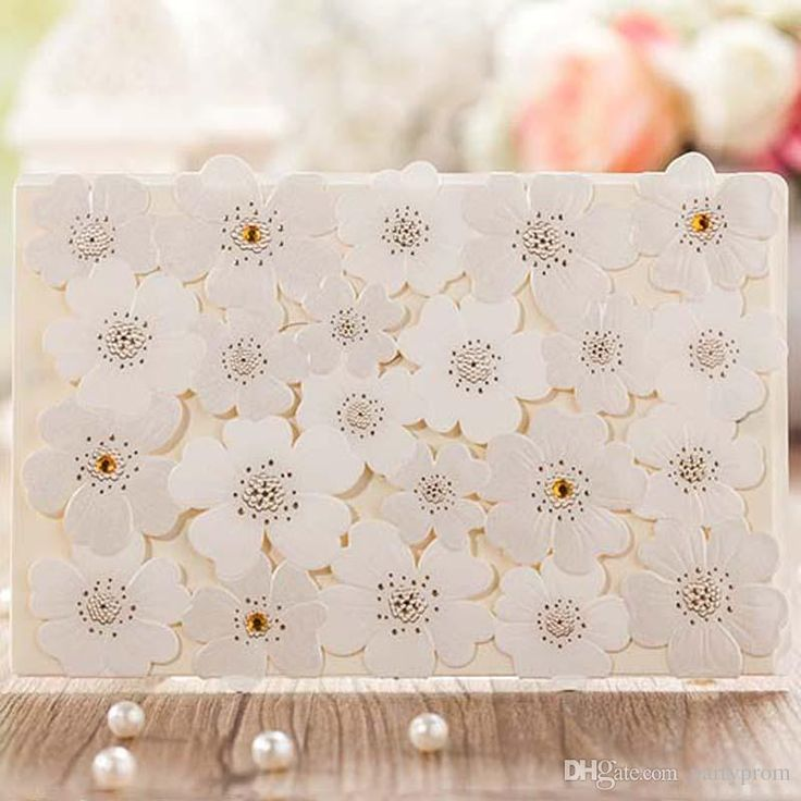 Birthday Party #Invitations New Arrival Elegant Flower Laser Cut Wedding Invitation Card Engagement Invitation Cards Free Wedding Invitation Templates From Partyprom, $105.97  Dhgate.Com