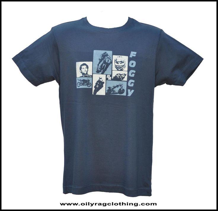 Retro Carl Fogarty T shirt