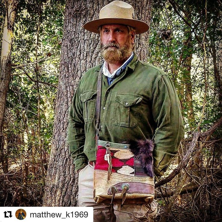 Thanks @matthew_k1969 for posting this pic with his custom Navajo bucket bag