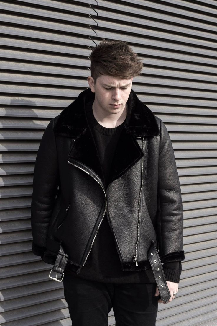 OOTD Zara Faux Shearling Jacket Gallucks Leather