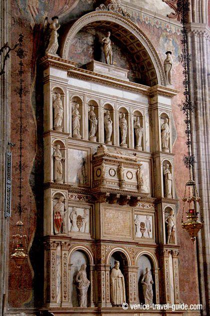 Basilica Dei Frari Tomb Of Doge Nicol 242 Tron Basilica Dei