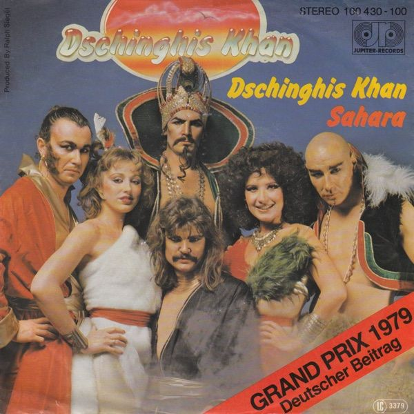 """Dschingis Khan"" performed by Dschingis Khan. Germany @ Eurovision 1979."