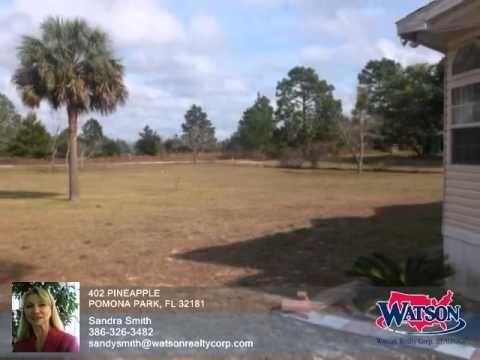 Homes for Sale - 402 PINEAPPLE POMONA PARK FL 32181 - Sandra Smith - http://jacksonvilleflrealestate.co/jax/homes-for-sale-402-pineapple-pomona-park-fl-32181-sandra-smith/