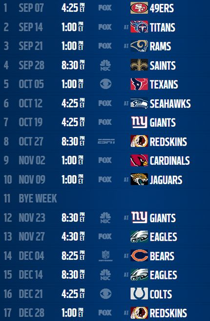 Dallas Cowboys 2014 Schedule. Lets Go Cowboys!! #DallasCowboys