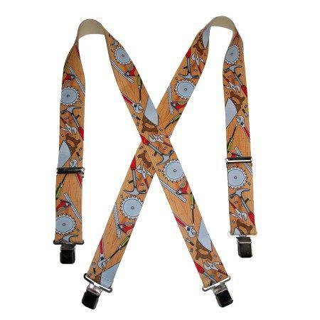 CTMÂ Mens Elastic Clip-End 2 Inch Tradesman Work Suspenders