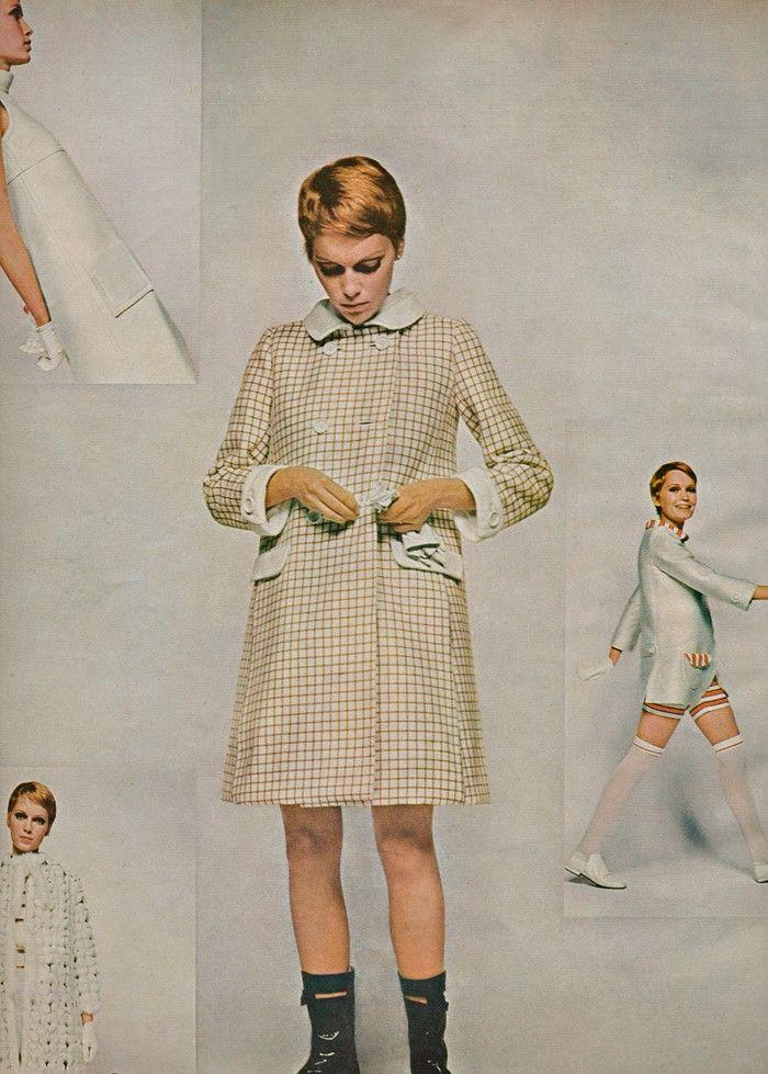 Mia Farrow August 1967 Mod Inspiration Pinterest