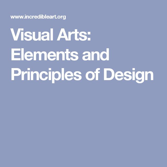 Visual Elements And Principles : Best ideas about elements and principles on pinterest