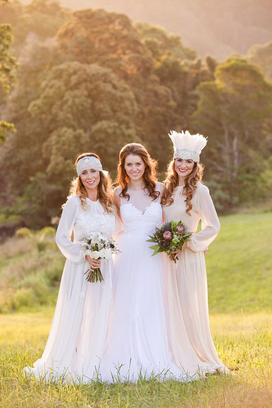 White+Bohemian+Wedding+Ideas
