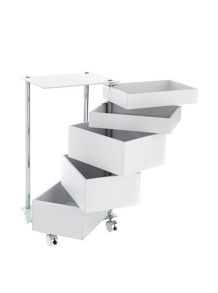 Neutral carrello da bagno big bobo bianco su amazon buyvip - Ikea carrello bagno ...