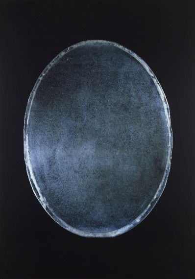 Richard Learoyd, Oval Mirror, 2009,  camera obscura Ilfochrome photograph