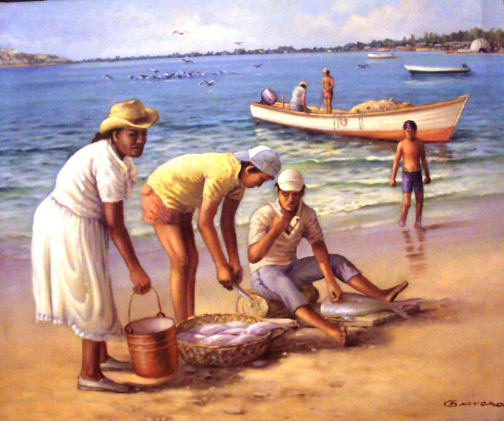 Obra del artista Plástico reconocido Jorge Guevara,nacido en Colombia, realizada en Oleo sobre lienzo (Marinas), exhibe sus obra en la Galería, ubicada en la Marina Internacional Bahía Redonda. Venezuela, estado Anzoategui