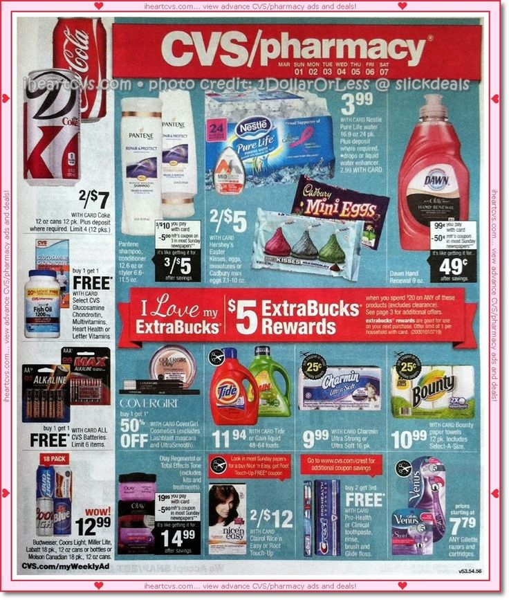 03/01 03/07 (With images) Cvs, Ads, Pantene