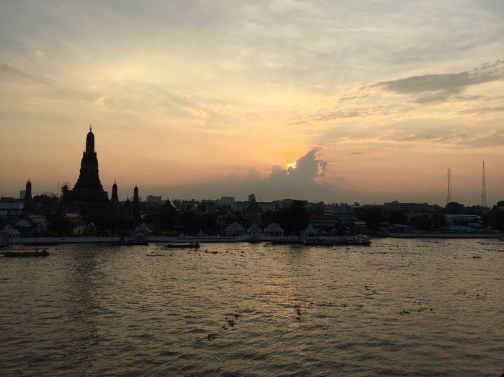Wat Aroon, Bangkok, Thailand