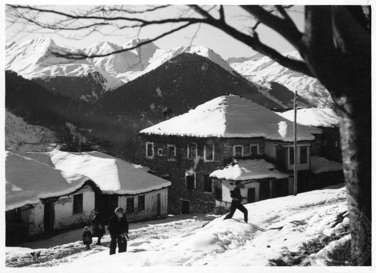 Metsovo, Epirus; Dorothy Burr Thompson - Undated (Likely the 20's or 30's.)