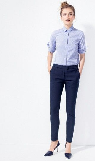 1000  ideas about Blue Dress Pants on Pinterest | Women&39s work