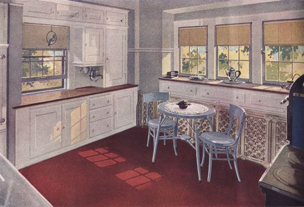 1920s Kitchen Gallery   Kitchen Flooring, Cabinetry, Nooks, And Plumbing    Vintage Kitchen