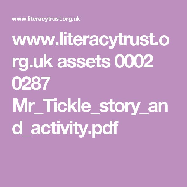 www.literacytrust.org.uk assets 0002 0287 Mr_Tickle_story_and_activity.pdf