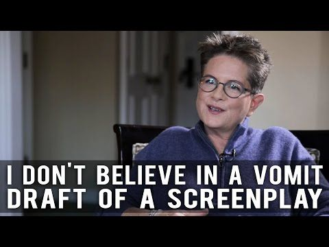 I Don't Believe In A Vomit Draft Of A Screenplay by Phyllis Nagy of CAROL - YouTube